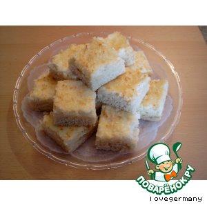Рецепт: Пирог кокосовый