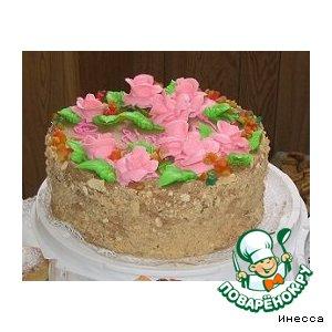 Рецепт: Киевский торт