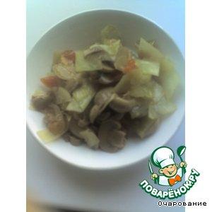 Рецепт: Салат по-китайски
