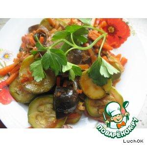 Рецепт: Овощное рагу с соевым соусом