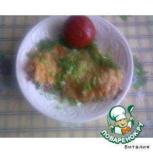 Рецепт: Рыба, запеченная в сметане