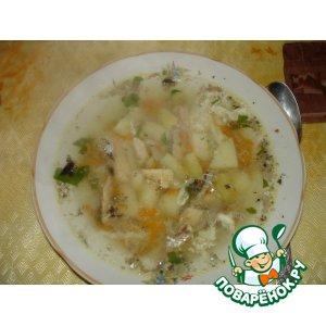 Рецепт: Суп из консервов