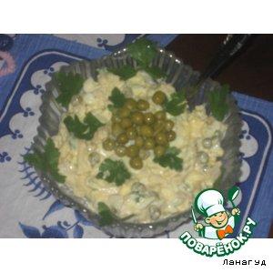 Рецепт: Кальмаровый салат