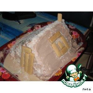 """Рецепт: Торт """"Монастырская изба"""""""