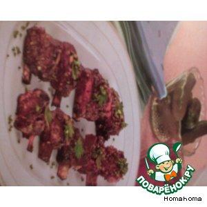 Рецепт: Ребрышки в глазури