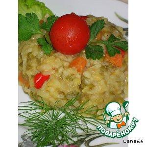 Рецепт: Каша с машем и рисом Машкичири