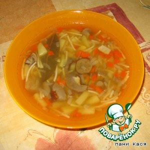Рецепт: Суп из подберезовиков