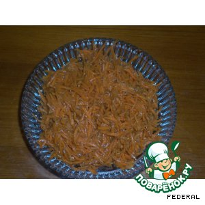 Рецепт: Морковка по-корейски