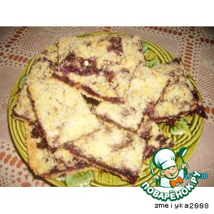 Рецепт: Пирог из штрейзеля