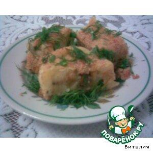 Рецепт: Картофельный рулет