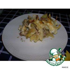 Рецепт: Картофель с мясом По-капитански