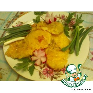Рецепт: Картофель под сыром