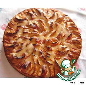 Рецепт: Цветаевский яблочный пирог