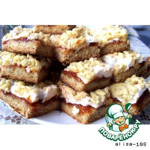 Рецепт Быстрый пирог с вареньем