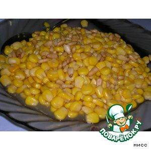 Рецепт: Горячая закуска из кукурузы