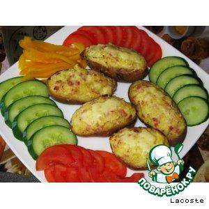 Рецепт: Картофельные лодочки