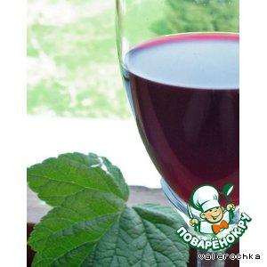 "Рецепт: Вино ""Черная рябина"""