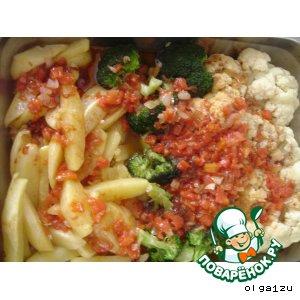 Рецепт: Запеченные овощи
