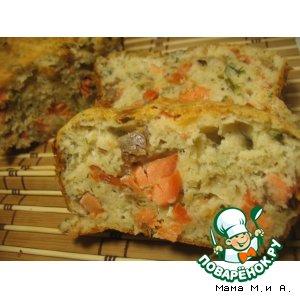 Рецепт: Хлебец лососевый