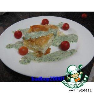 Рецепт: Пирог из теста фило с сыром