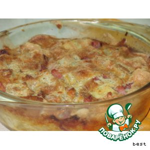 Рецепт: Датская сырная запеканка