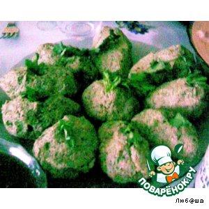 Рецепт: Мхали из белокочанной капусты