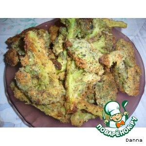 Рецепт: Золотистая брокколи
