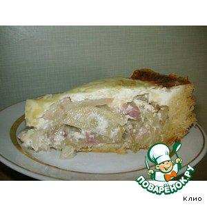 Рецепт: Мой любимый луковый пирог