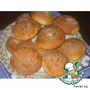 Рецепт: Творожные булочки
