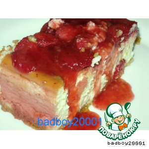 Рецепт: Творожный торт Ламбада