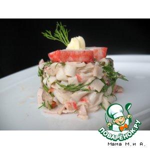 """Рецепт: Салат """"Ruffo"""""""