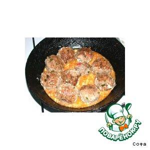 Рецепт: Тефтели с говядиной