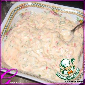 Рецепт: Соус овощной к шашлыку