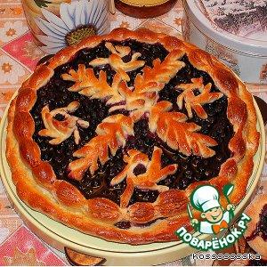 Рецепт Пирог с черникой и ватрушки
