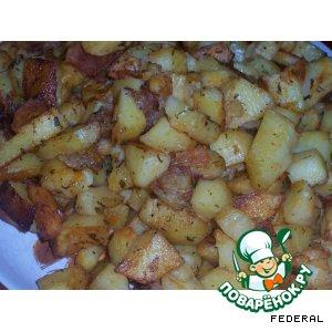 Рецепт: Картофель-гриль