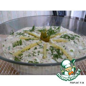 Рецепт: Рыбный салатик