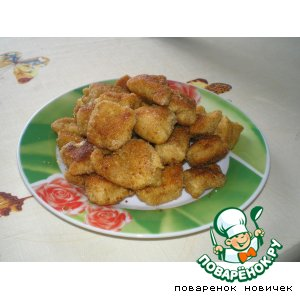 Рецепт: Куриные наггетсы