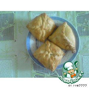 Рецепт: Слоeное тесто домашнего приготовления и изделия из него