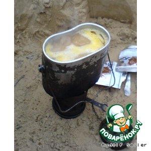 Рецепт: Суп солдатский Победитель