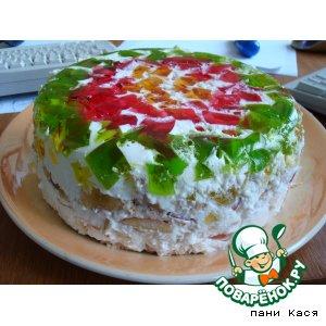Рецепт: Торт Изумруд