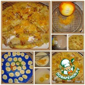 Рецепт: Апельсиновые блинчики