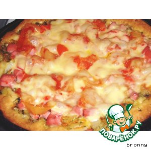 Рецепт: Экспресс-пицца
