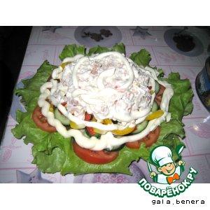 "Рецепт: Салат ""Скорый"""