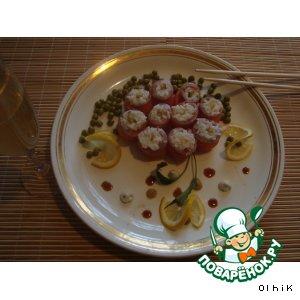 Рецепт: Закуска Роллы по-простецки