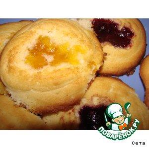 Рецепт: Печенье а-ля курабье