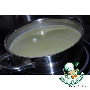 Рецепт: Суп Вкусняшка Брокколи на первое