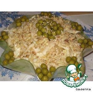 Рецепт: Салат овощной «Свежесть»