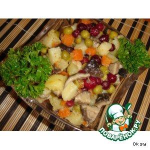 Рецепт: Салат Взятие зимнего