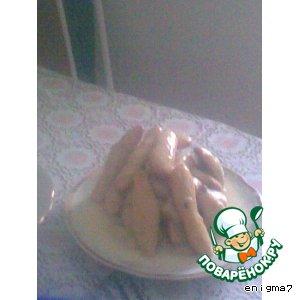 Рецепт: Торт Золотая горка