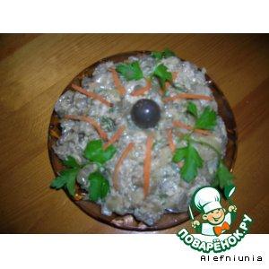 Рецепт: Баклажаны со вкусом грибов